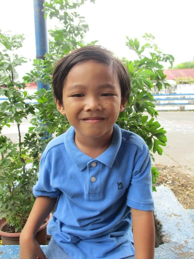 Help Travex Sambel B. by becoming a child sponsor. Sponsoring a child is a rewarding and heartwarming experience.