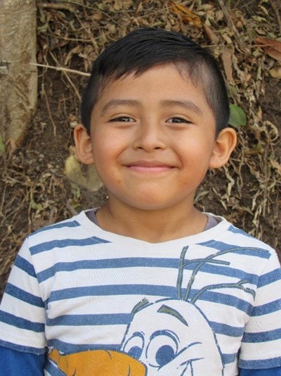 Help Carlos Alejandro by becoming a child sponsor. Sponsoring a child is a rewarding and heartwarming experience.