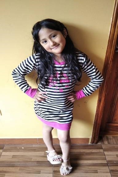 Help Danna Carolina by becoming a child sponsor. Sponsoring a child is a rewarding and heartwarming experience.