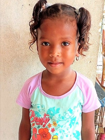 Help Eglis Andrea by becoming a child sponsor. Sponsoring a child is a rewarding and heartwarming experience.