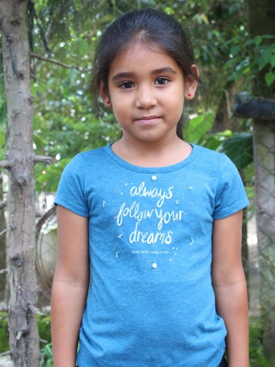 Help Maria Guadalupe by becoming a child sponsor. Sponsoring a child is a rewarding and heartwarming experience.