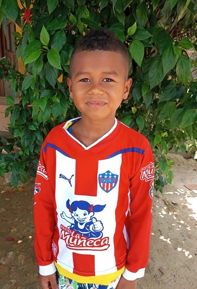Help Yeikol Andres by becoming a child sponsor. Sponsoring a child is a rewarding and heartwarming experience.