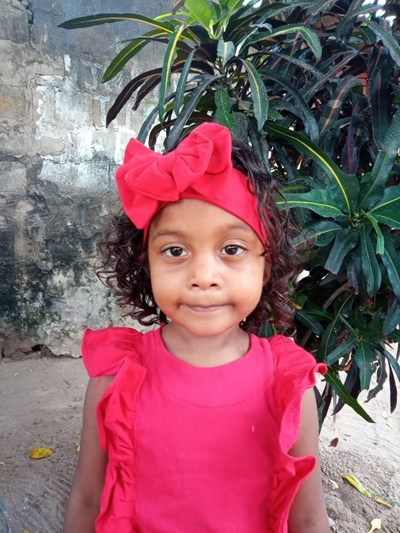Help Teilin Sofia by becoming a child sponsor. Sponsoring a child is a rewarding and heartwarming experience.