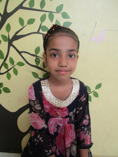 Help Aatika by becoming a child sponsor. Sponsoring a child is a rewarding and heartwarming experience.