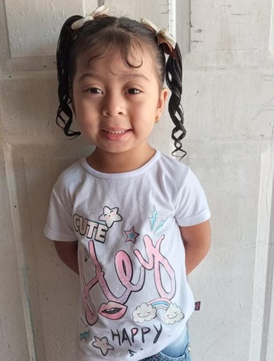 Help Mariangel by becoming a child sponsor. Sponsoring a child is a rewarding and heartwarming experience.