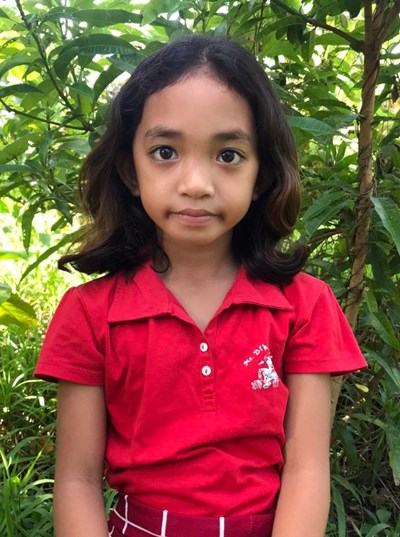 Help Aillene B. by becoming a child sponsor. Sponsoring a child is a rewarding and heartwarming experience.