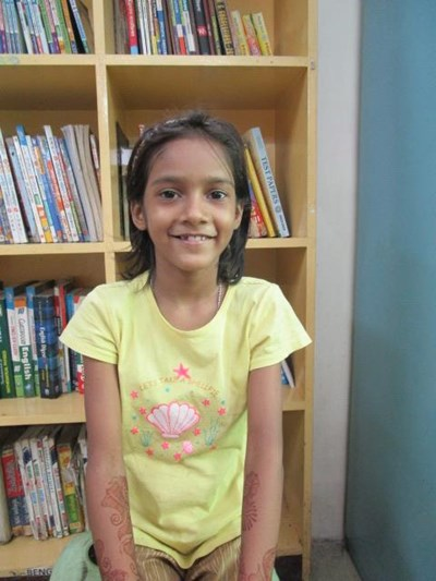 Help Aksha by becoming a child sponsor. Sponsoring a child is a rewarding and heartwarming experience.