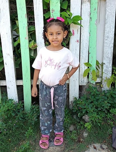 Help Lisanic Esther by becoming a child sponsor. Sponsoring a child is a rewarding and heartwarming experience.