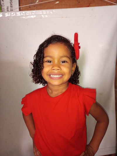 Help Angelais Sophia by becoming a child sponsor. Sponsoring a child is a rewarding and heartwarming experience.