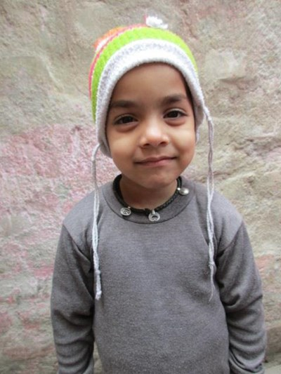 Help Bhawna by becoming a child sponsor. Sponsoring a child is a rewarding and heartwarming experience.