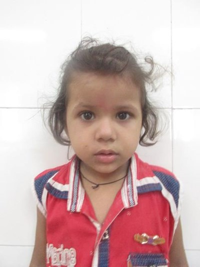 Help Pihu by becoming a child sponsor. Sponsoring a child is a rewarding and heartwarming experience.