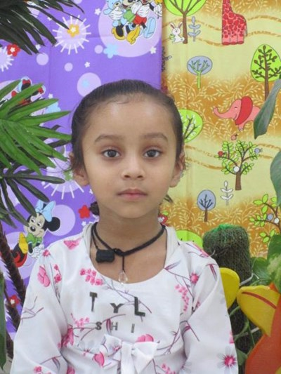 Help Anushka by becoming a child sponsor. Sponsoring a child is a rewarding and heartwarming experience.