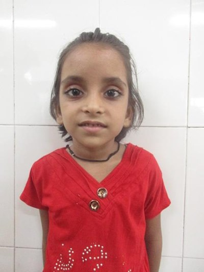 Help Anshika by becoming a child sponsor. Sponsoring a child is a rewarding and heartwarming experience.
