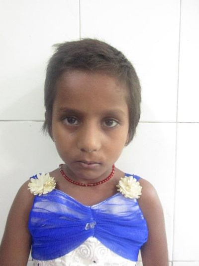 Help Priti by becoming a child sponsor. Sponsoring a child is a rewarding and heartwarming experience.