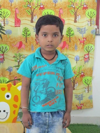 Help Aadarsh by becoming a child sponsor. Sponsoring a child is a rewarding and heartwarming experience.