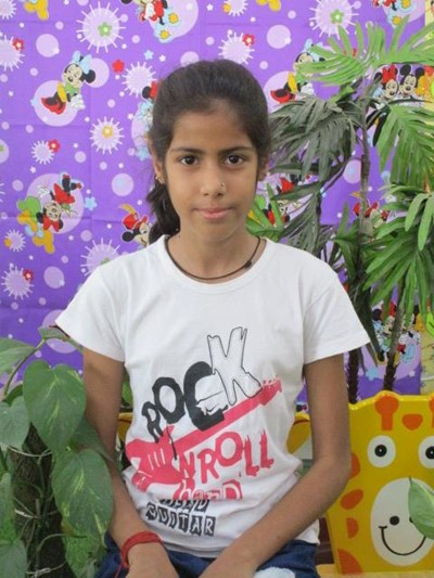 Help Anjali by becoming a child sponsor. Sponsoring a child is a rewarding and heartwarming experience.