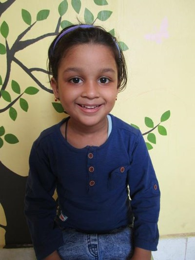 Help Aliza by becoming a child sponsor. Sponsoring a child is a rewarding and heartwarming experience.