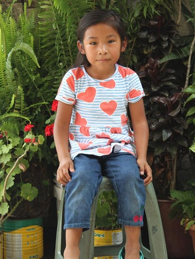 Help Anyelin Xiomara by becoming a child sponsor. Sponsoring a child is a rewarding and heartwarming experience.