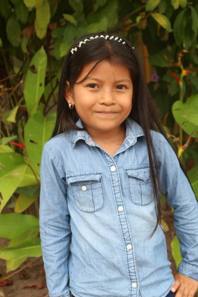 Help Alessandra Mishel by becoming a child sponsor. Sponsoring a child is a rewarding and heartwarming experience.