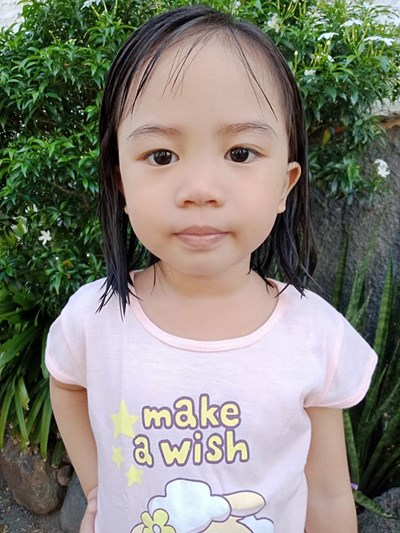 Help Aika Lorein C. by becoming a child sponsor. Sponsoring a child is a rewarding and heartwarming experience.