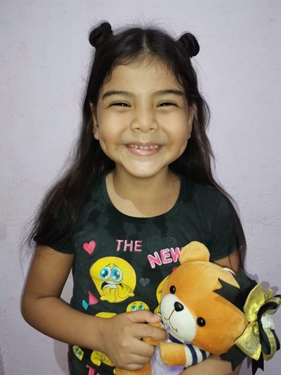 Help Emma Aylin by becoming a child sponsor. Sponsoring a child is a rewarding and heartwarming experience.