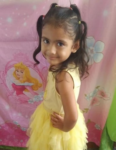 Help Linda Sofia by becoming a child sponsor. Sponsoring a child is a rewarding and heartwarming experience.