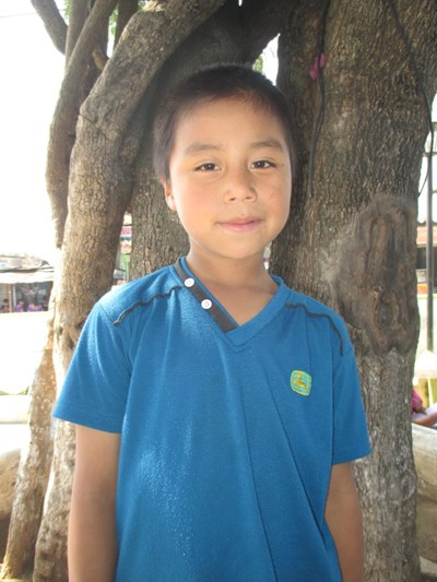 Help Eliazar Isai by becoming a child sponsor. Sponsoring a child is a rewarding and heartwarming experience.