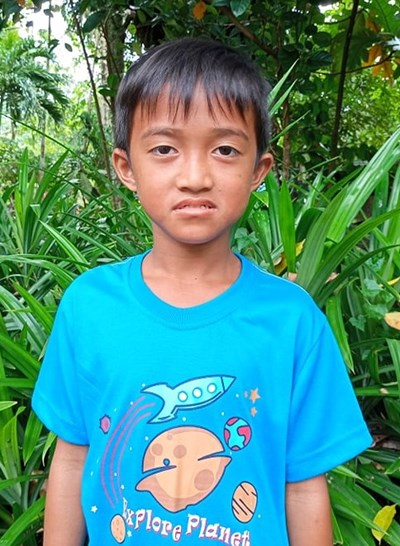 Help Alvin Jhon C. by becoming a child sponsor. Sponsoring a child is a rewarding and heartwarming experience.