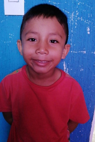 Help José Nicolás by becoming a child sponsor. Sponsoring a child is a rewarding and heartwarming experience.