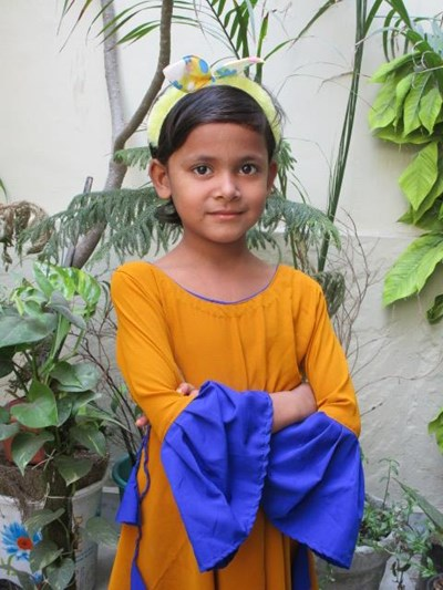 Help Aafrin by becoming a child sponsor. Sponsoring a child is a rewarding and heartwarming experience.