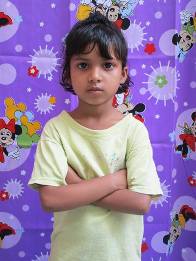Help Najrin by becoming a child sponsor. Sponsoring a child is a rewarding and heartwarming experience.