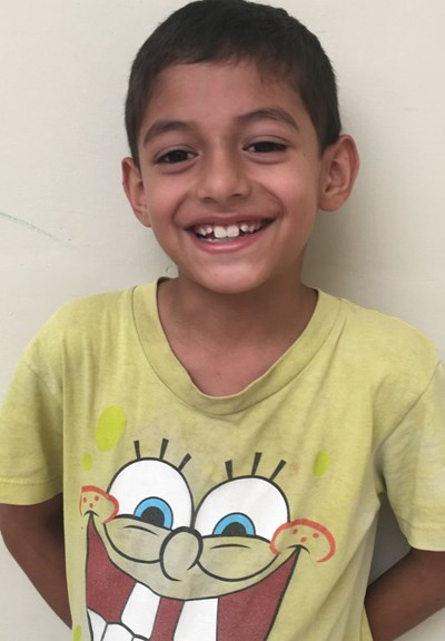 Help Jorge De Jesús by becoming a child sponsor. Sponsoring a child is a rewarding and heartwarming experience.