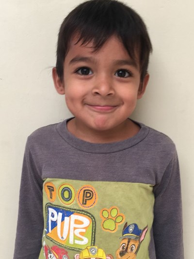 Help Juan Zahir by becoming a child sponsor. Sponsoring a child is a rewarding and heartwarming experience.