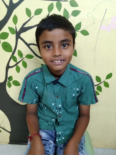 Help Amit by becoming a child sponsor. Sponsoring a child is a rewarding and heartwarming experience.