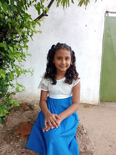 Help Darianis Michel by becoming a child sponsor. Sponsoring a child is a rewarding and heartwarming experience.