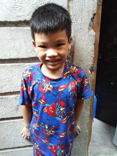 Help Jhon Daniel C. by becoming a child sponsor. Sponsoring a child is a rewarding and heartwarming experience.