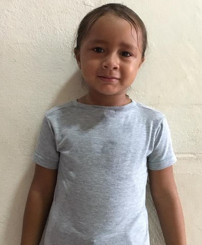 Help Stivaly  Alejandra by becoming a child sponsor. Sponsoring a child is a rewarding and heartwarming experience.