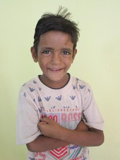 Help Suraj by becoming a child sponsor. Sponsoring a child is a rewarding and heartwarming experience.