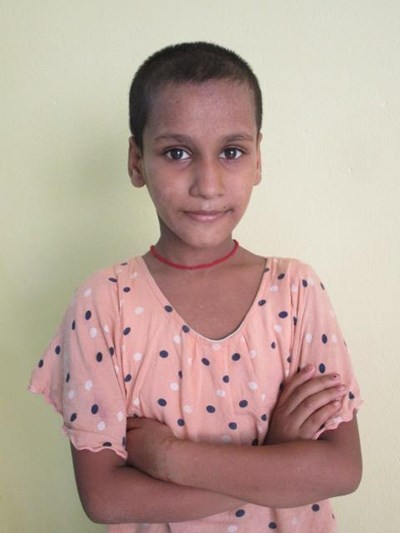 Help Sunheri by becoming a child sponsor. Sponsoring a child is a rewarding and heartwarming experience.