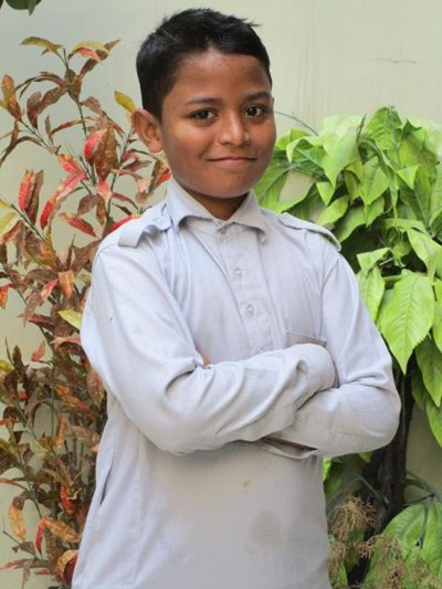 Help Gulam by becoming a child sponsor. Sponsoring a child is a rewarding and heartwarming experience.