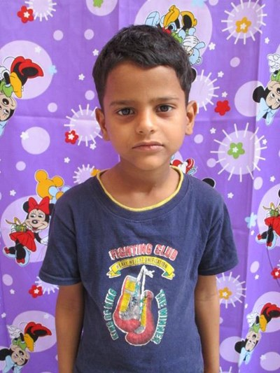 Help Bidhansh by becoming a child sponsor. Sponsoring a child is a rewarding and heartwarming experience.