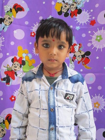 Help Madhav by becoming a child sponsor. Sponsoring a child is a rewarding and heartwarming experience.
