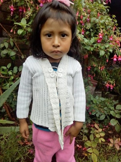 Help Gladis Esmeralda by becoming a child sponsor. Sponsoring a child is a rewarding and heartwarming experience.