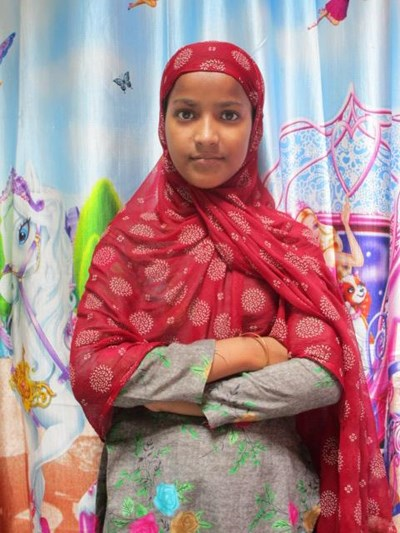 Help Shabreen by becoming a child sponsor. Sponsoring a child is a rewarding and heartwarming experience.
