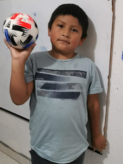 Help Francisco Daniel by becoming a child sponsor. Sponsoring a child is a rewarding and heartwarming experience.