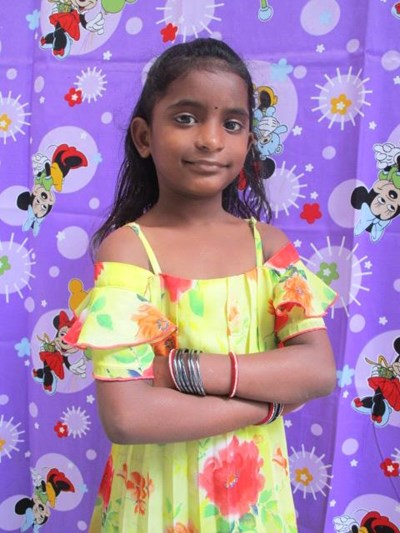 Help Samita by becoming a child sponsor. Sponsoring a child is a rewarding and heartwarming experience.
