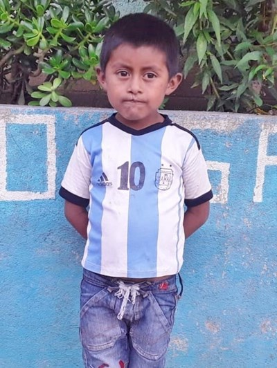 Help Miguel Angel David by becoming a child sponsor. Sponsoring a child is a rewarding and heartwarming experience.
