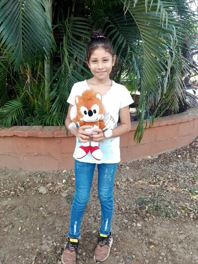 Help Adriana Michelle by becoming a child sponsor. Sponsoring a child is a rewarding and heartwarming experience.