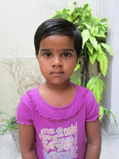 Help Shivani by becoming a child sponsor. Sponsoring a child is a rewarding and heartwarming experience.