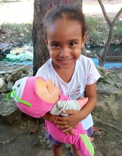 Help Yaneris by becoming a child sponsor. Sponsoring a child is a rewarding and heartwarming experience.
